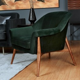 CHARLIZE OCCASIONAL CHAIR EMERALD GREEN