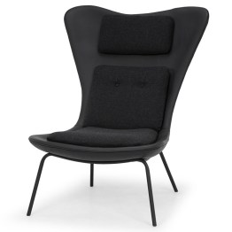 BARLOW OCCASIONAL CHAIR BLACK