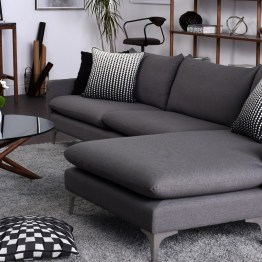 ANDERS SECTIONAL SLATE GREY