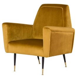VICTOR OCCASIONAL CHAIR MUSTARD