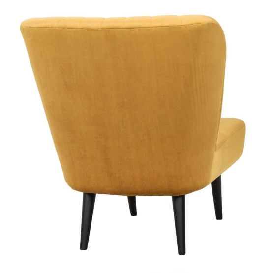 ALICIA OCCASIONAL CHAIR MUSTARD