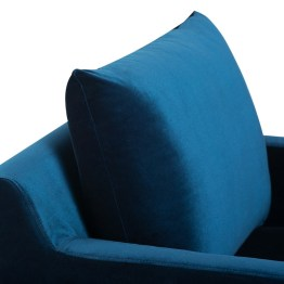 ANDERS OCCASIONAL CHAIR MIDNIGHT BLUE