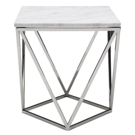 JASMINE SIDE TABLE WHITE