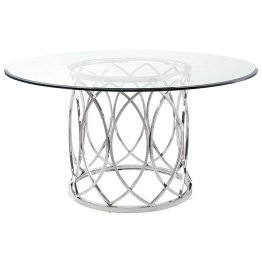 JULIETTE DINING TABLE CLEAR