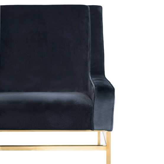 THEODORE OCCASIONAL CHAIR BLACK