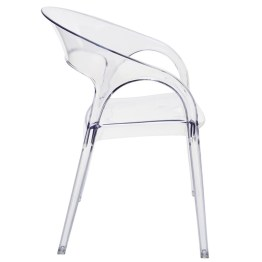 VAPOUR DINING CHAIR CLEAR