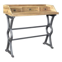 Colt Industrial Teak Desk