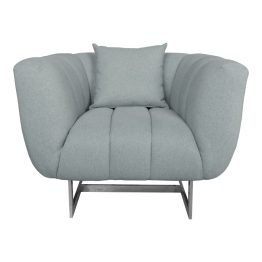 Butler Arm Chair Grey