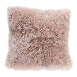 Cashmere Fur Pillow Light Purple
