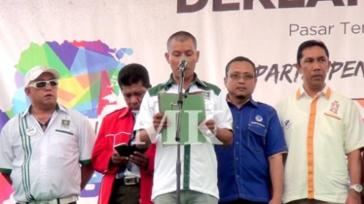Perwakilan Ketua Partai Politik Pengusung