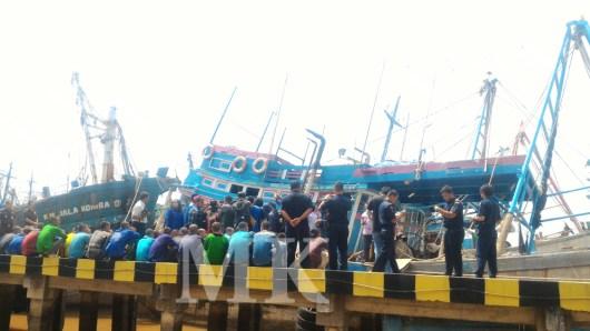 KKP Pontianak Kalbar, menangkap 10 kapal Vietnam