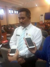 Sekda Pemkot Tarakan, dr. Khairul.