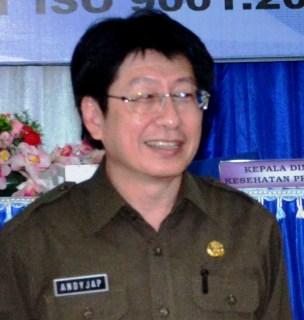 Kepala Dinas Kesehatan Propinsi, Andi Tjap
