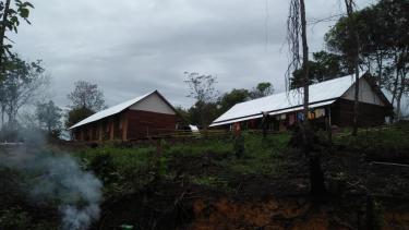 Suara aneh sering terdengar dari pemukiman warga eks Gafatar di Tanah Merah, Samarinda.
