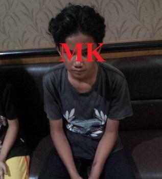 HS kala dimintai keterangan di Mako Polres Tarakan.