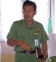 Kepala Disperindagkop Tarakan Tajuddin Tuwo