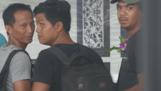 Sembara Oktavian tujuan Tanjung Periok, Leonard Bastian ke Tanggerang dan Rohaidi tujuan Bekasi berangkat dari Bandara Juwata Tarakan dengan menggunakan pesawat Garuda Indonesia dengan nomor penerbangan GA 663.