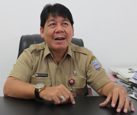 Kepala BPPD Kaltara Udau Robinson