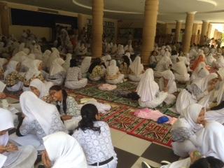 Aktifitas pelajar di Kota Tarakan di luar program belajar mengajar.