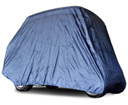 Universal 4 passenger golf cart cover with factory top- $75.00