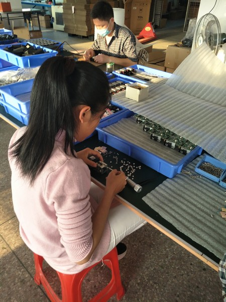 Product assembleren in China