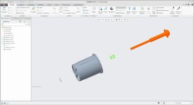 Assemblages tekenen in 3D met CREO