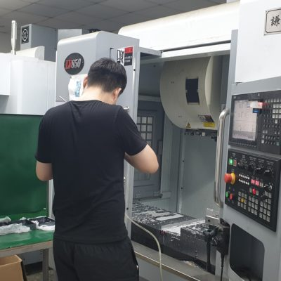 CNC machining door Metron Technics
