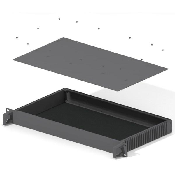 19 inch rack module 1U custom kit