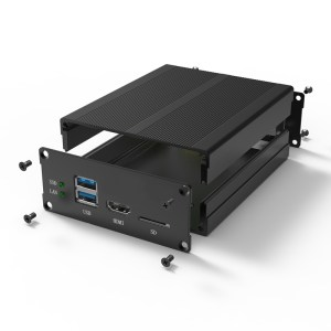 D1001442 – elektronicabehuizing uit aluminium 97B40H90L set