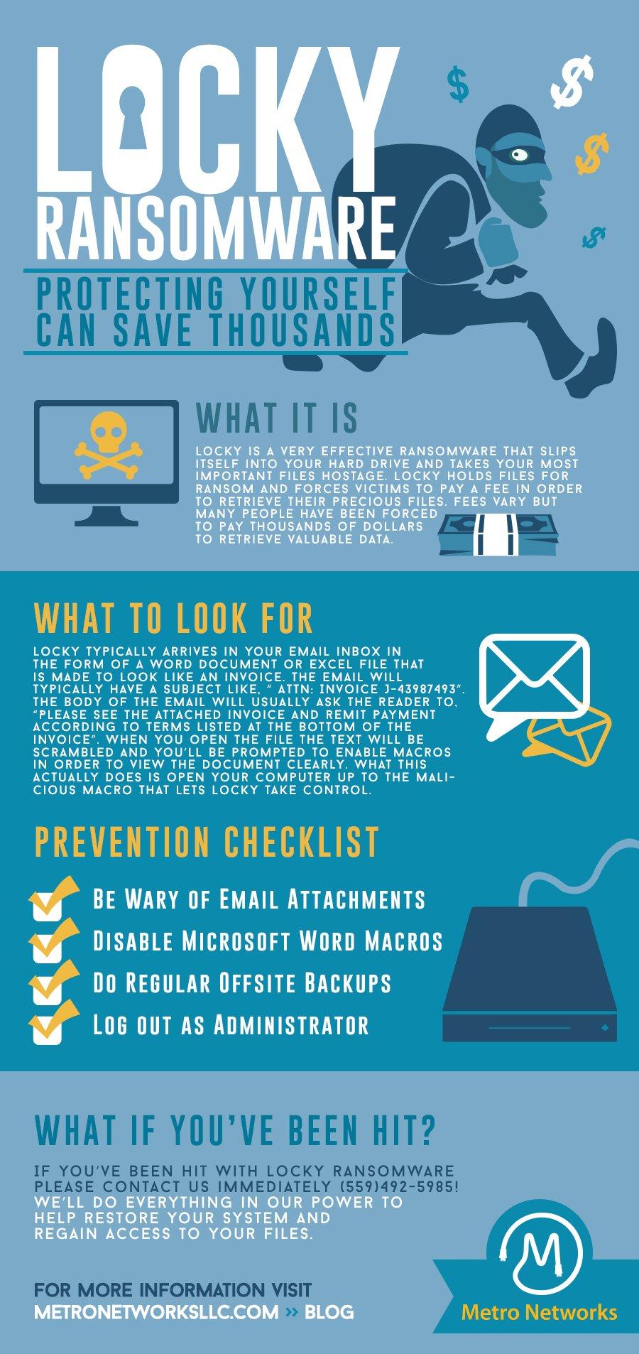 Locky ransomware web