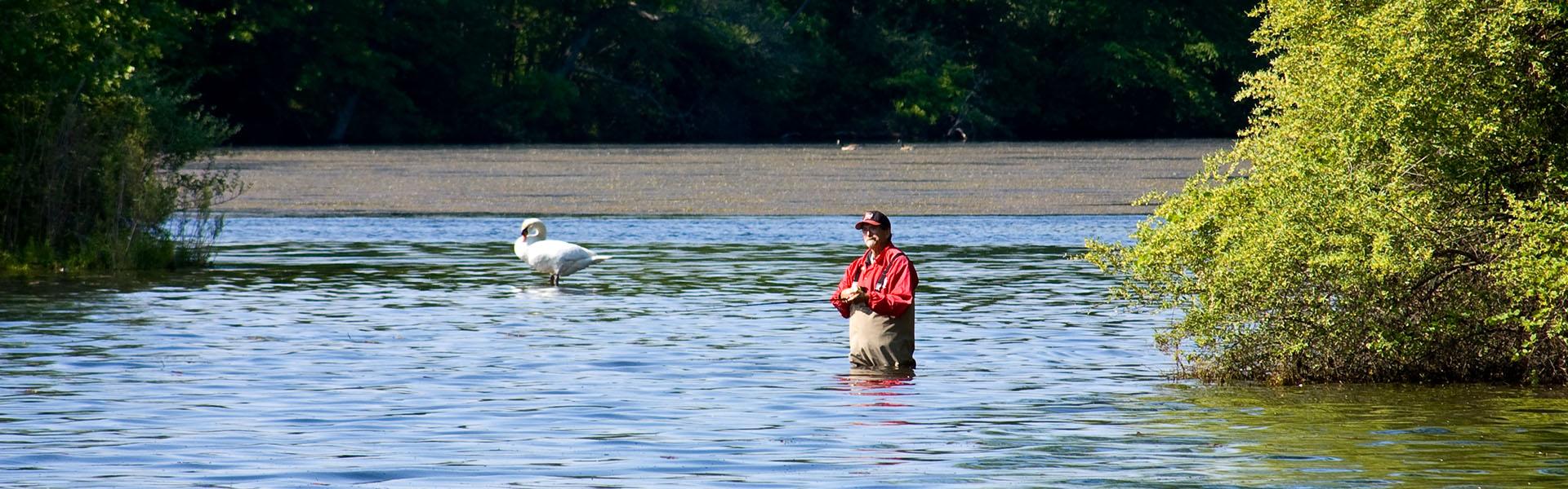River Huron Mi Fishing Map