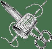 Thimble and Scissors