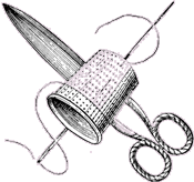 Thimble and Scissors