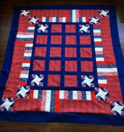 QCS from Deb shop hop quilt
