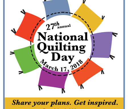 National Quilting Day Logo
