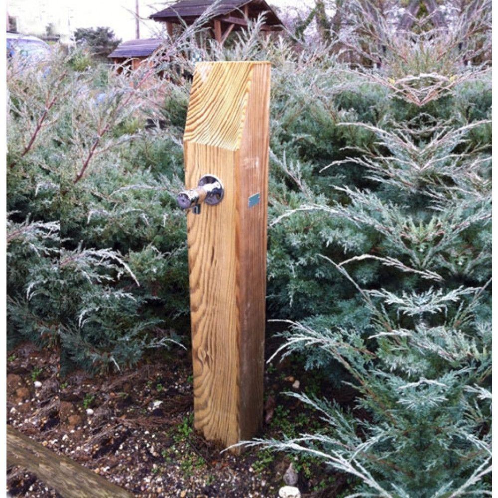 borne d eau forestiere support bois