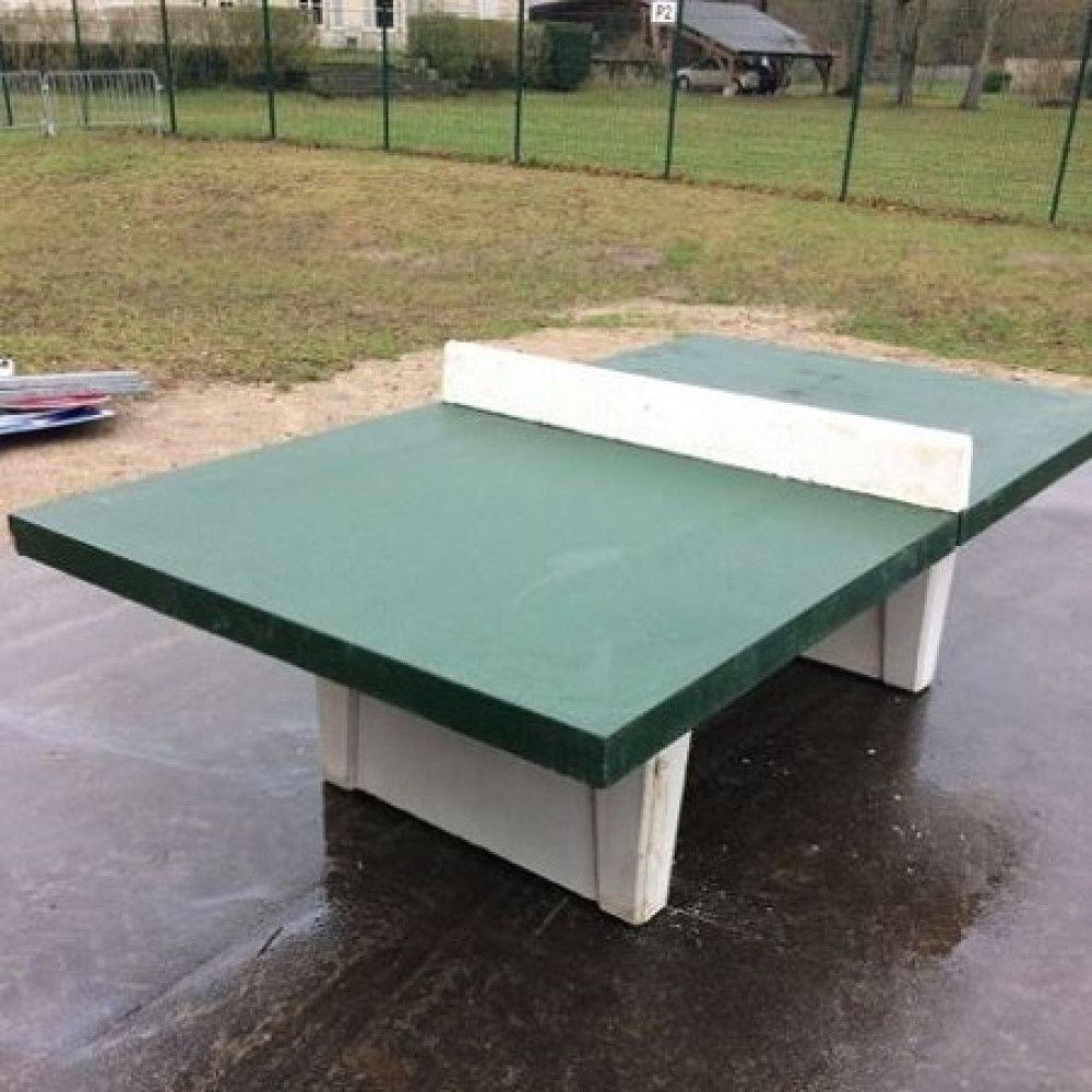 Table Ping Pong En Beton Equipements Sportifs Sports Loisirs Mobilier Amenagement Urbain