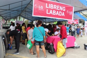 LG Sustains the Love with its 2nd Laundry Love for Taal