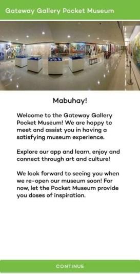 Araneta City Gateway Gallery mobile app - Metropoler