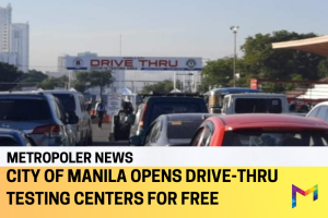 Drive-Thru Testing Center in Quirino Grandstand soft launches today