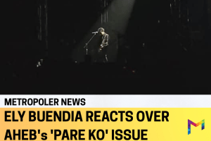 """Ely Buendia speaks out on the issue of obvious rip-off and plagiarism of theatrical version of Eraserhead's """"Pare Ko"""""""