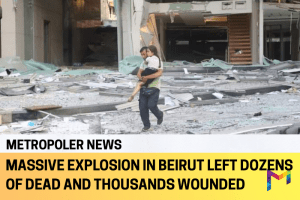 Beirut explosion caused by stocked ammonium nitrate