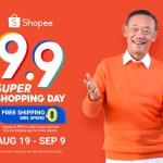 Shopee Brand Ambassador Jose Mari Chan returns for the 9.9 Super Shopping Day