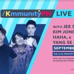 Catch the cast of Running Man at Globe Kmmunity PH LIVE for a free Fan Meet