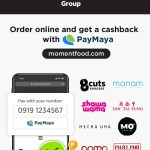 Moment Group restos go cashless with PayMaya