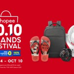 Grab these amazing products all at 50% off with FREE shipping on Shopee's 10.10 Brands Festival