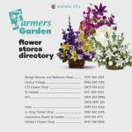 Flowers for your dearly departed at Farmers Garden