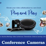 Video conferencing camera and speaker from Tenveo