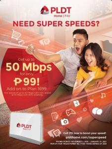 PLDT Home launches Super Speed Deals Promo for as low as Php 99