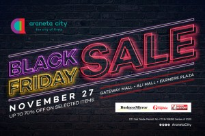 Araneta City's having an exciting shopping treats this long weekend